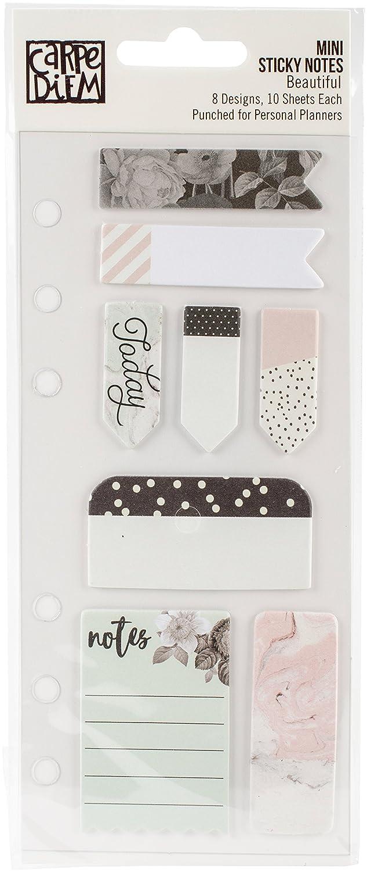 Carpe Diem Beautiful Mini Sticky Notes Simple Stories 7997