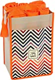 10 Large Reusable Grocery Shopping Bags in 1 Premium Compact Organizer. Durable, Stylish, Eco-Friendly Tote With An Assortment of Bags Best For Your Shopping Needs... A Chic Choice For Savvy Shoppers