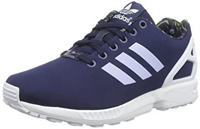 adidas Originals ZX Flux, Running Femme - Bleu - Blau (Night  Indigo/Periwinkle