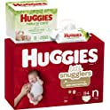 84 Count Huggies Little Snugglers Diapers (Newborn)