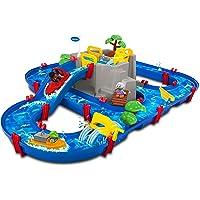 AquaPlay 8700001642 Lake Wasserstraße mit Berg Spielzeug