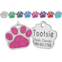 io tags Pet ID Tags, Personalized Dog Tags and Cat Tags, Custom Engraved, Easy to Read, Cute…