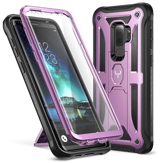 brand new 67cc1 cf76e Amazon.com: YOUMAKER Galaxy S9+ Plus Case, Full-Body Rugged ...