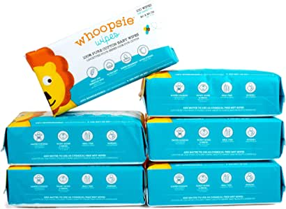 100% Pure Cotton Dry Wipes | 600 Count | Use Wet or Dry | Soft & Sensitive | Hypoallergenic | Extra Strong & Absorbent | Perfect for Diaper Changes, Runny Noses, Drool, Meal Time & Nursing