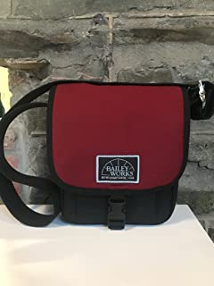 product image for BaileyWorks Pouch, Wool Burgundy