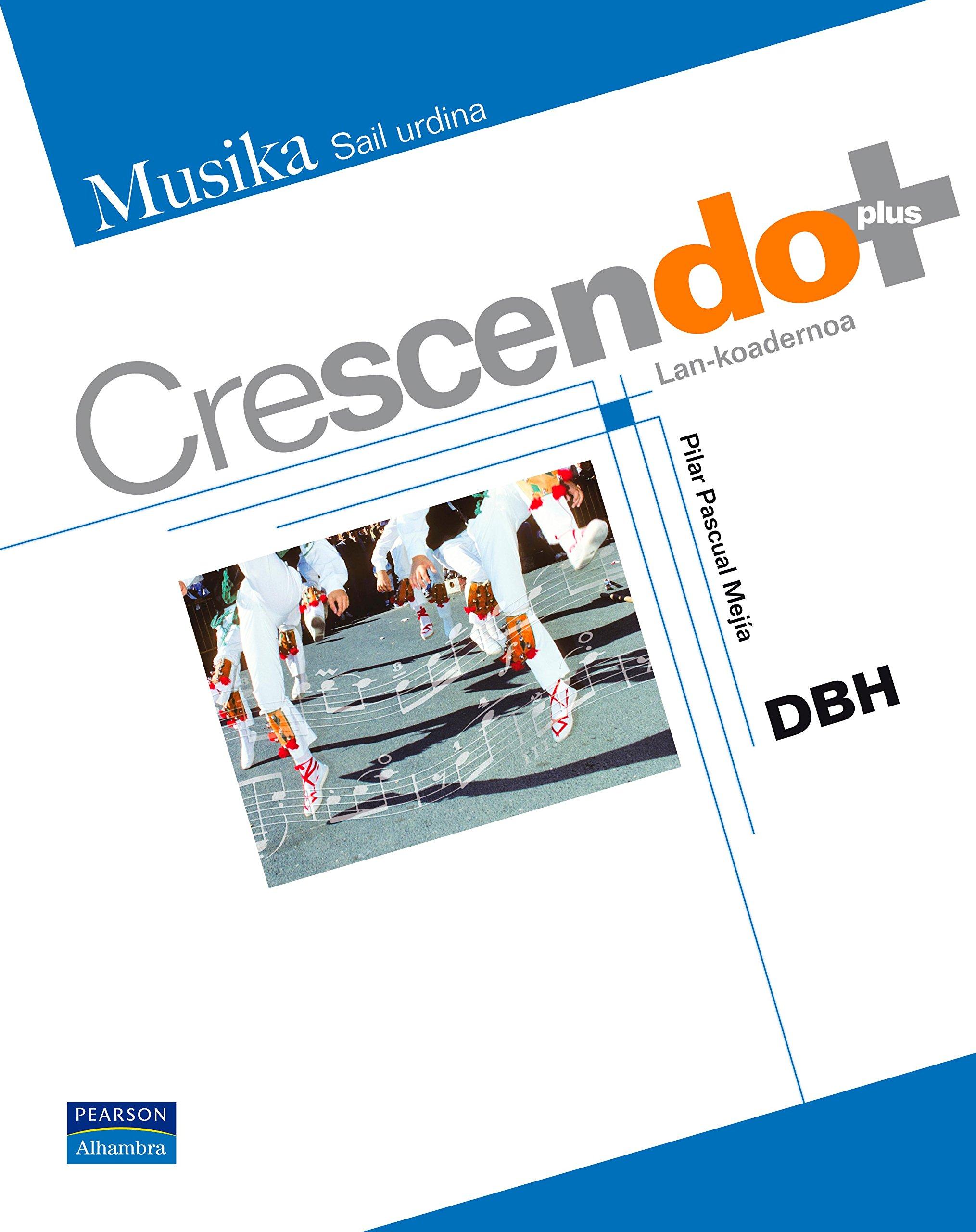 Crescendo plus lankoadernoa - 9788420554181: Amazon.es ...