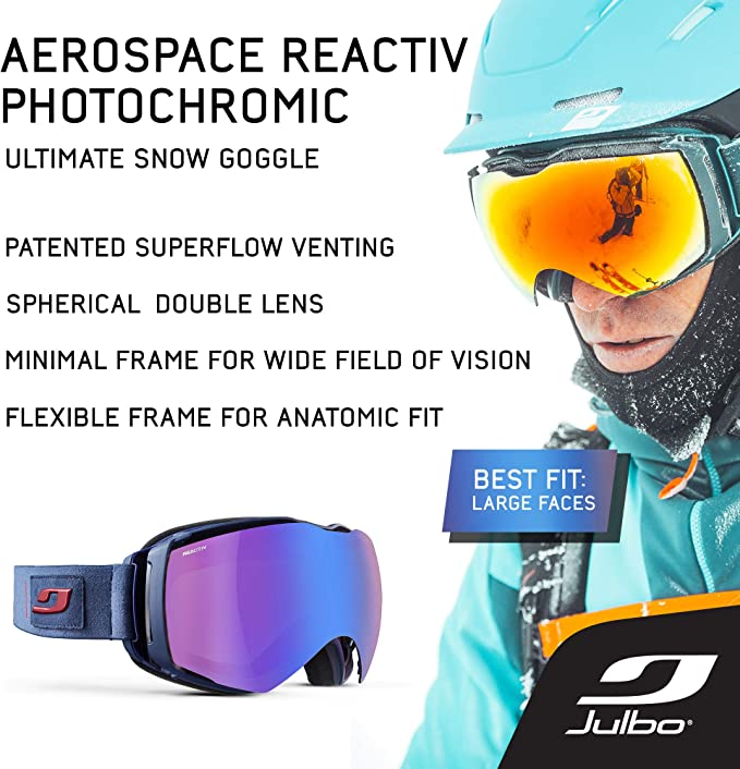 Julbo Aerospace Gafas de esquí, Unisex Adulto: Amazon.es: Deportes ...