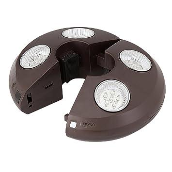 4 Light Rechargeable LED Umbrella Light