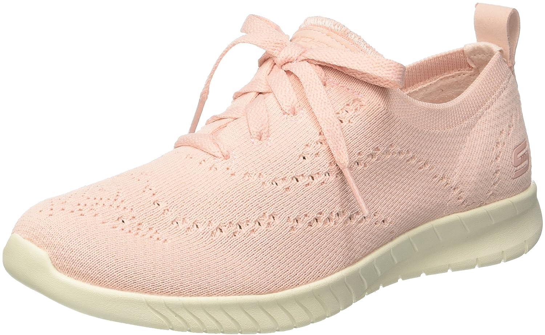 Light Pink Skechers Women's Wave-Lite Fashion Sneakers