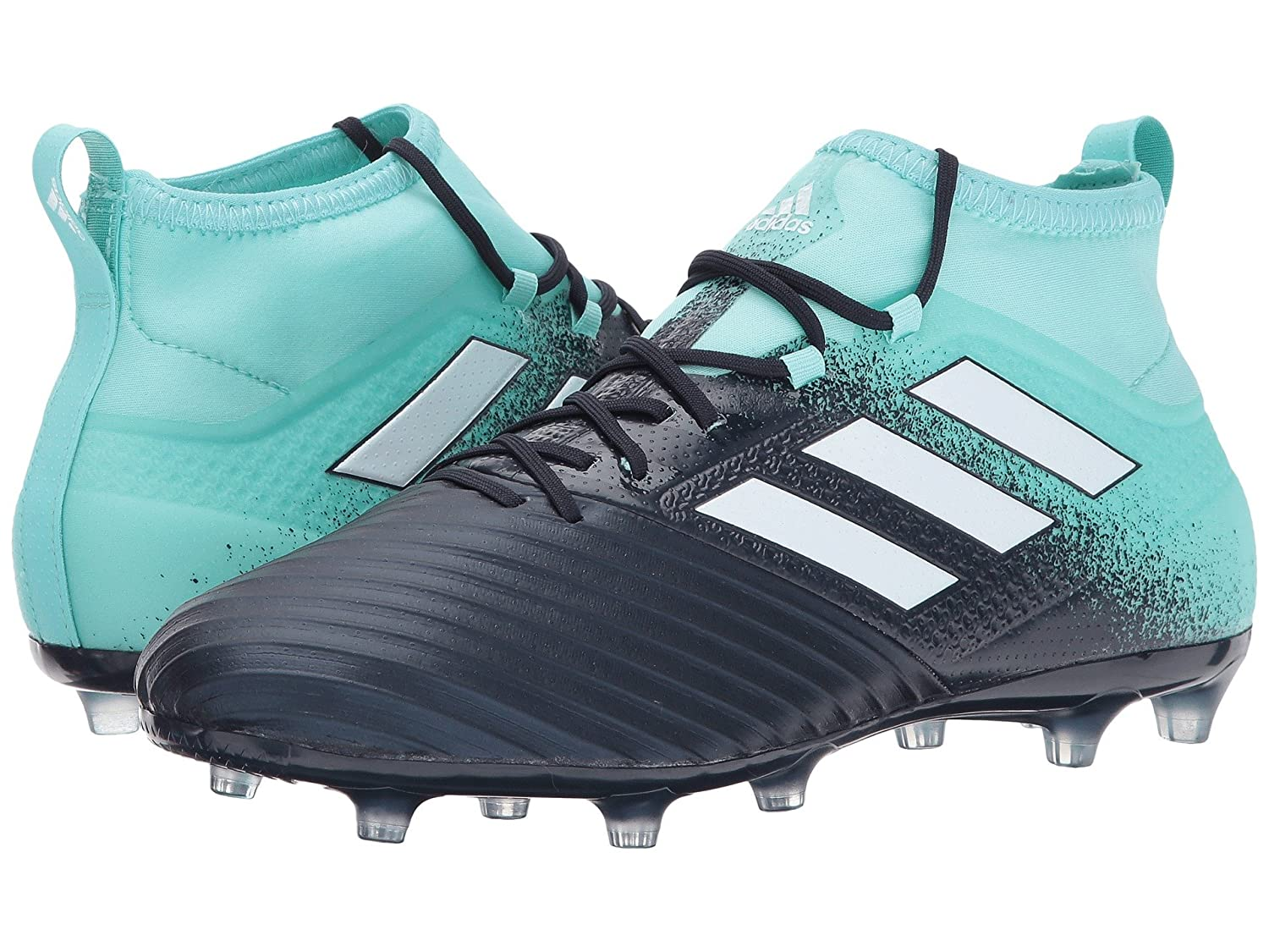 (アディダス) adidas メンズサッカーシューズ靴 Ace 17.2 FG Energy Aqua/Footwear White/Legend Ink 9 (27cm) D Medium B07BQHJTKV