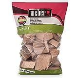 Weber Apple Wood Chunks, 350 cu. in. (0.006 cubic meter)