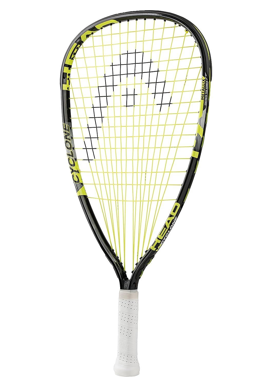 HEAD MX Cyclone Racquetball Racquet, Strung, 3 5/8 Inch Grip Head USA Inc. 223007