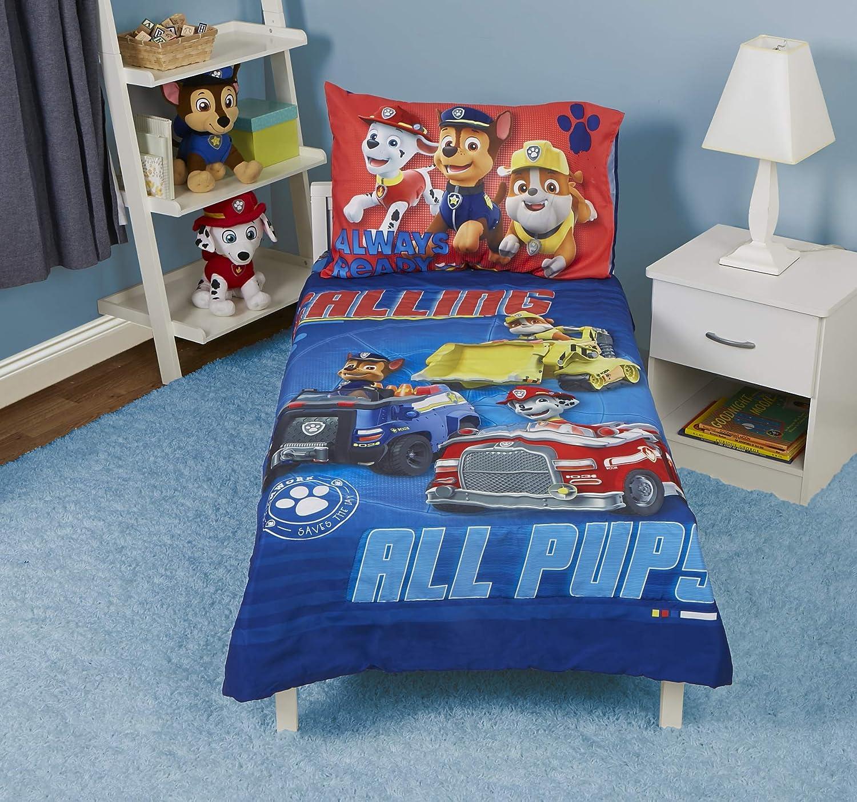 Paw Patrol Paw Patrol Calling All Pups 4-Piece Toddler Bedding Set