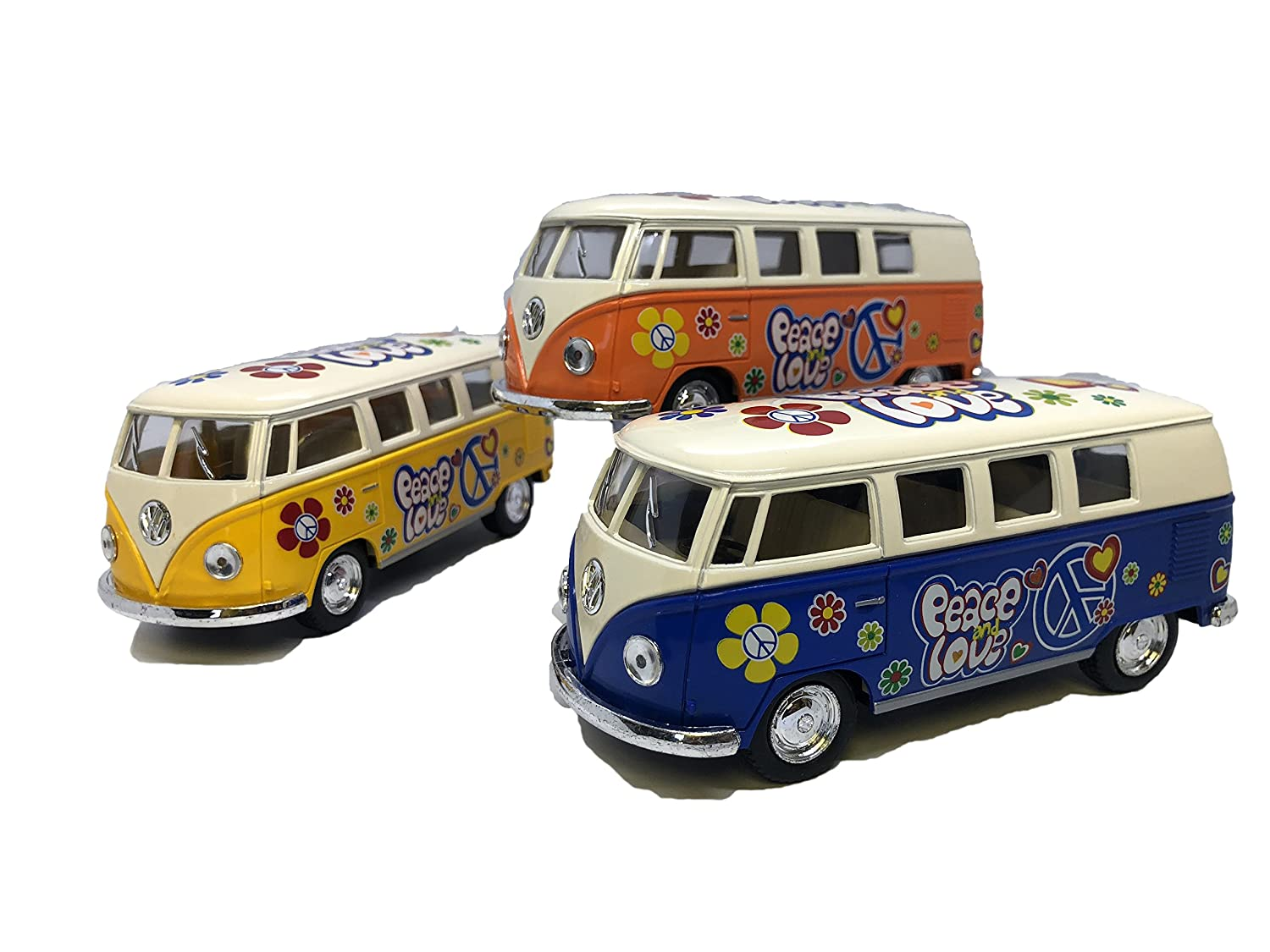 2019年最新海外 マスターおもちゃ1962 Decal of VW Classic Bus with B07FXTJFBF Peace and Love Decal Set of 3 B07FXTJFBF, アキマチ:e60ac02e --- a0267596.xsph.ru