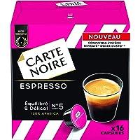 Carte Noire Espresso Equilibre/Délicat 128 g - Lot de 3