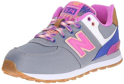 New Balance - Zapatillas de Deporte Niñas, gris (gris), KIDS 13: Amazon.es: Zapatos y complementos