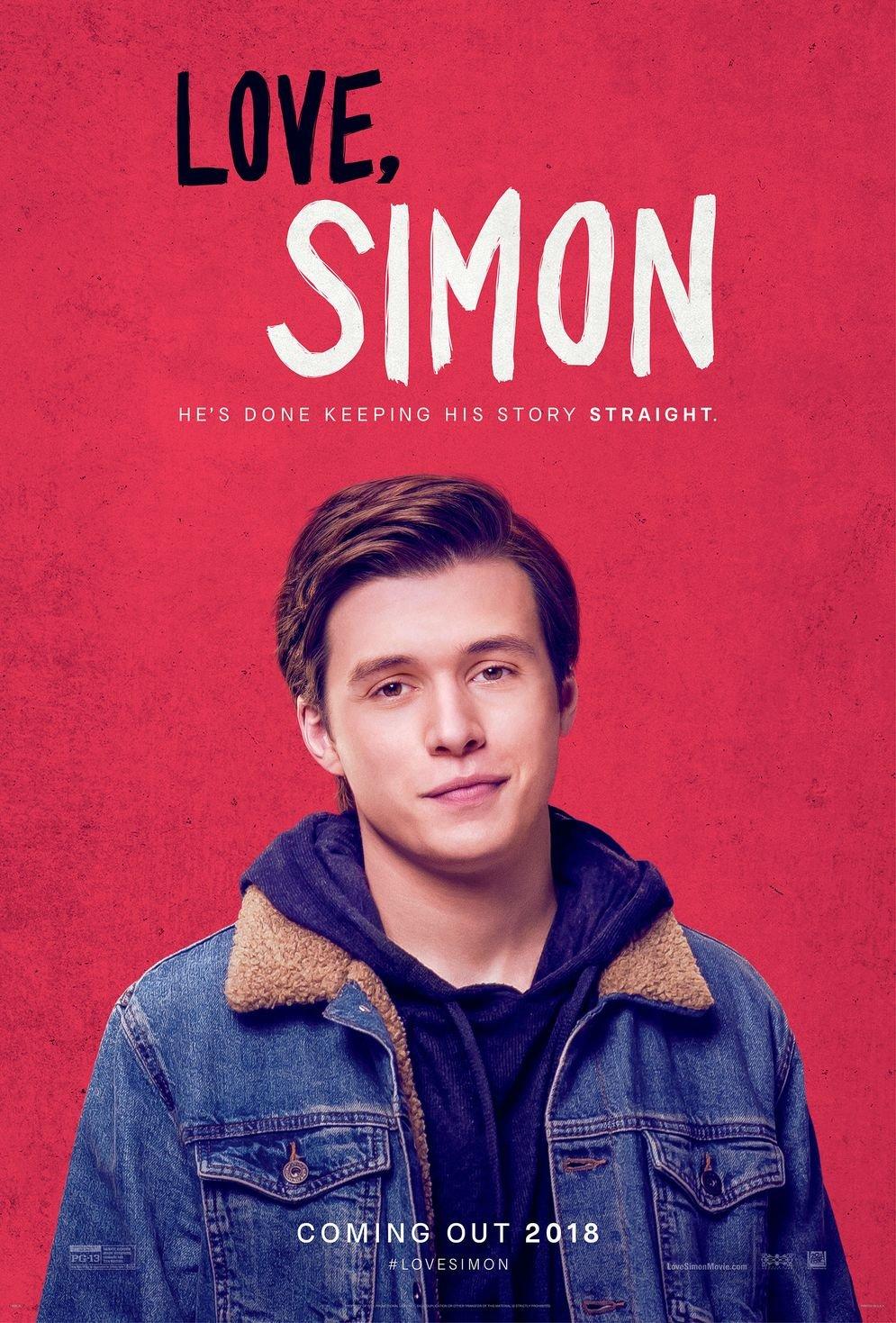 Kirbis Love Simon Movie Poster 18 x 28 Inches