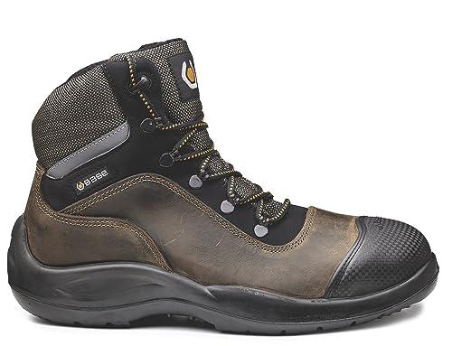 Base bo416 Raider superior S3 SRC - Botas de seguridad antideslizante de titanio para hombre con cordones: Amazon.es: Bricolaje y herramientas