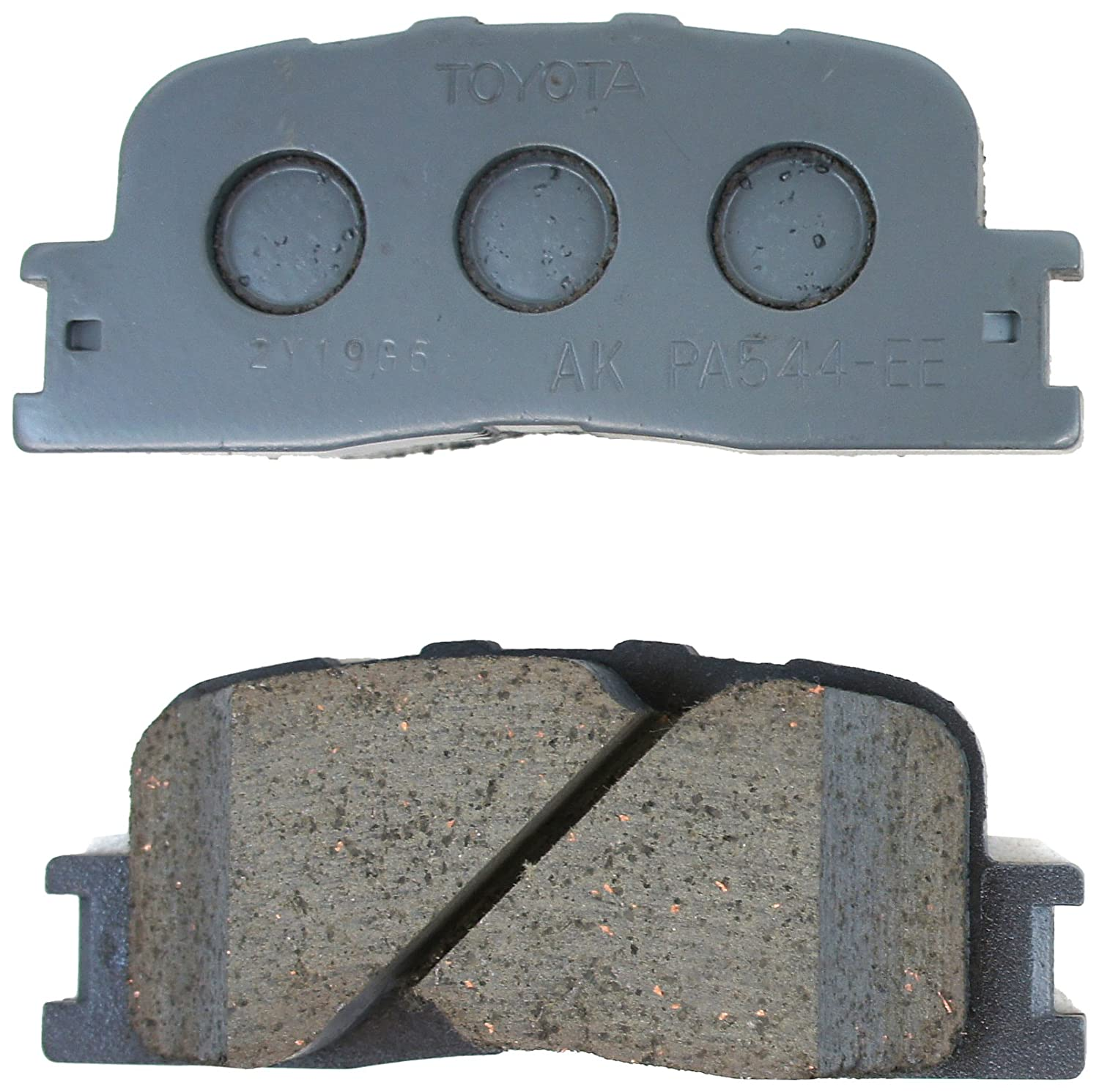 Toyota Genuine Parts 04466-33090 Rear Brake Pad Set