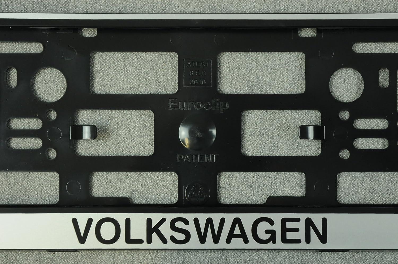 Set 2 x Kennzeichenhalter Volkswagen Kennzeichenhalterung ...