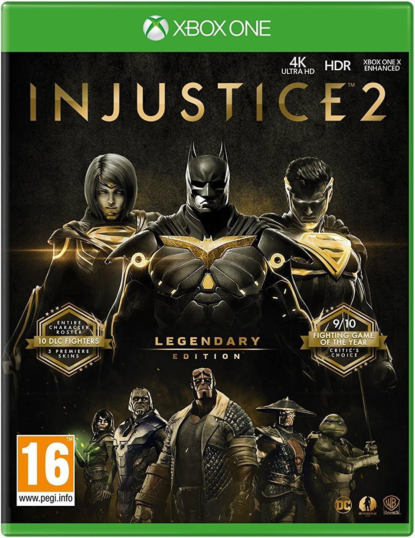 Amazon com: Injustice 2 Legendary Edition (Xbox One) UK