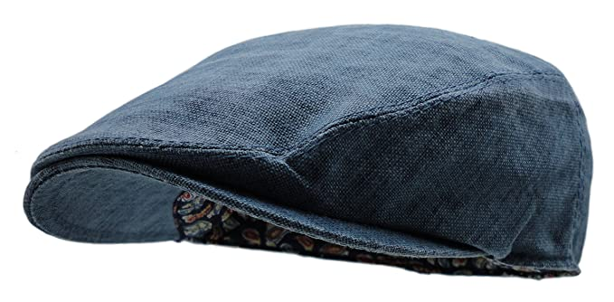 039d49381fe Wonderful Fashion Men s Linen Gatsby Newsboy Golf Flat Ivy Hat ...