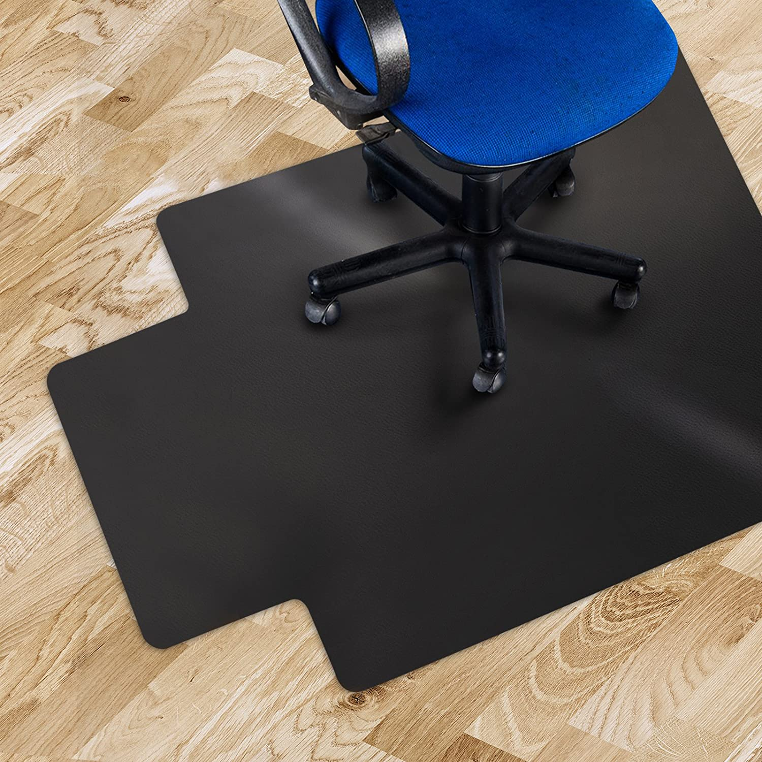 Amazon fice Marshal Black Polycarbonate fice Chair Mat