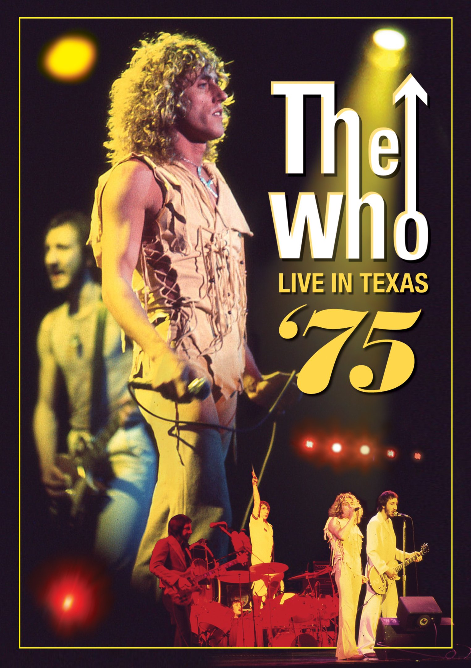 DVD : The Who - Live in Texas 75 (DVD)