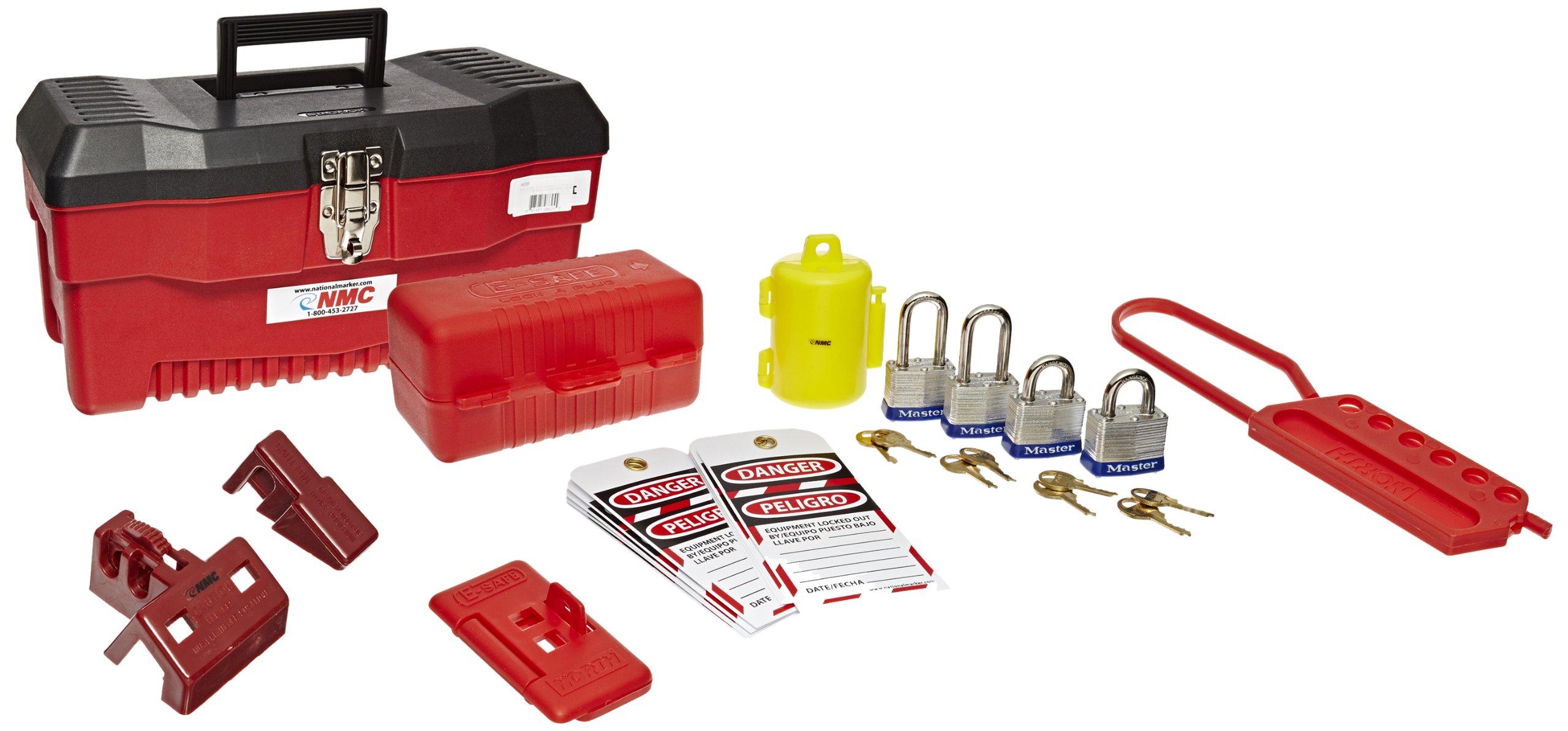 NMC SKEBBI 29 Piece Bilingual Electrical Lockout Starter Kit by NMC (Image #1)