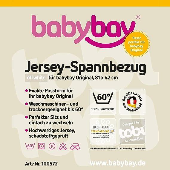 /81/x 42/x 4/cm Babybay Matelas biologique de remplacement/
