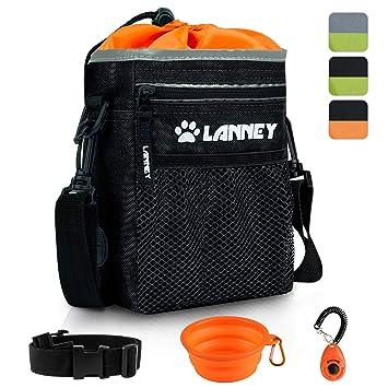 Amazon.com: Bolsa de entrenamiento para perros pequeños a ...