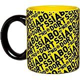 BVB-Tasse mit Borussia Dortmund-Schriftzügen one size