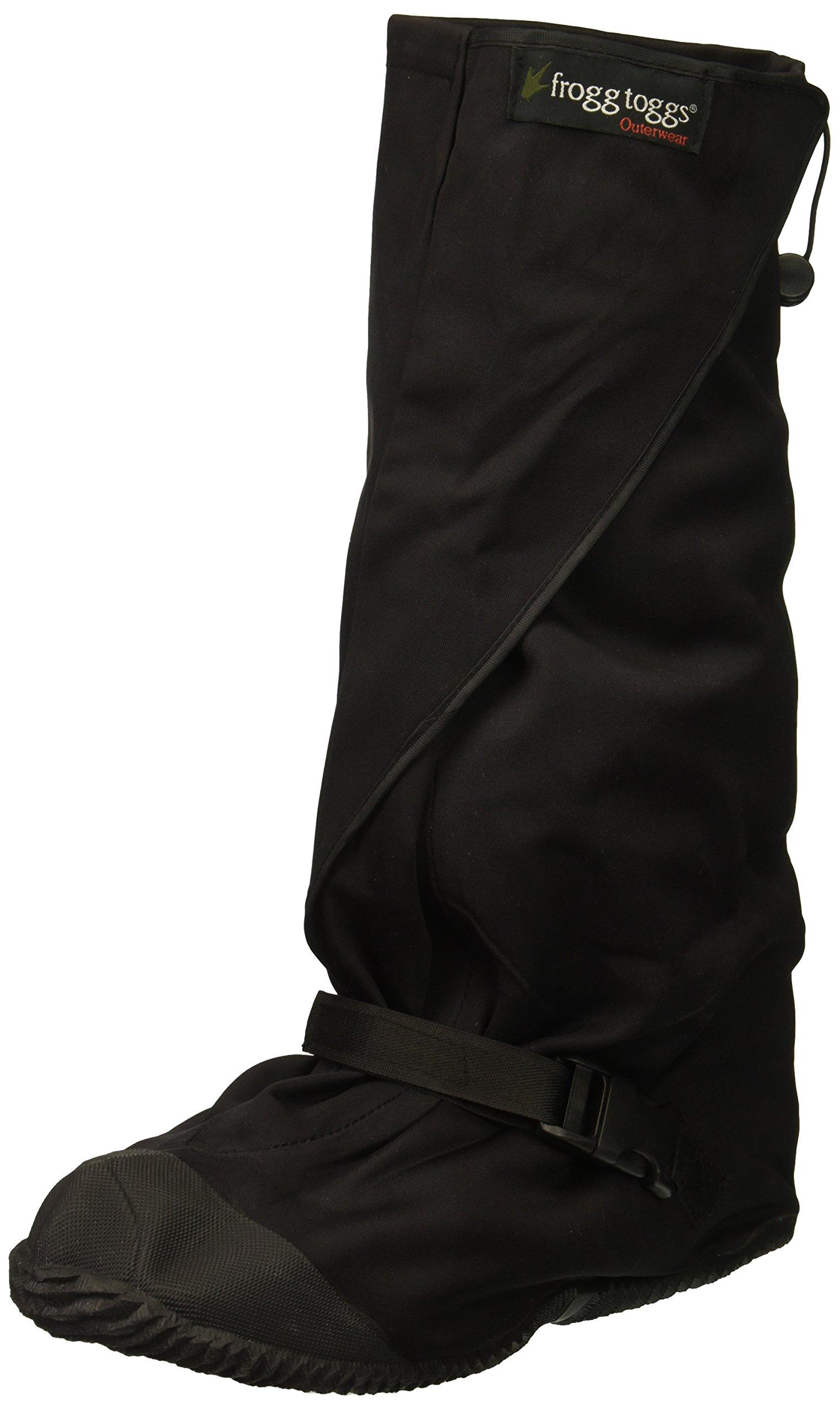 Frogg Toggs Unisex-Adult Frogg Leggs Over-Boot Leggings (Black, Small/Medium)