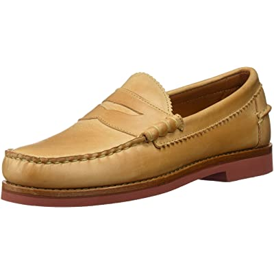 Allen Edmonds Men's Sedona Penny Loafer, TAN Leather, 7 D US   Loafers & Slip-Ons