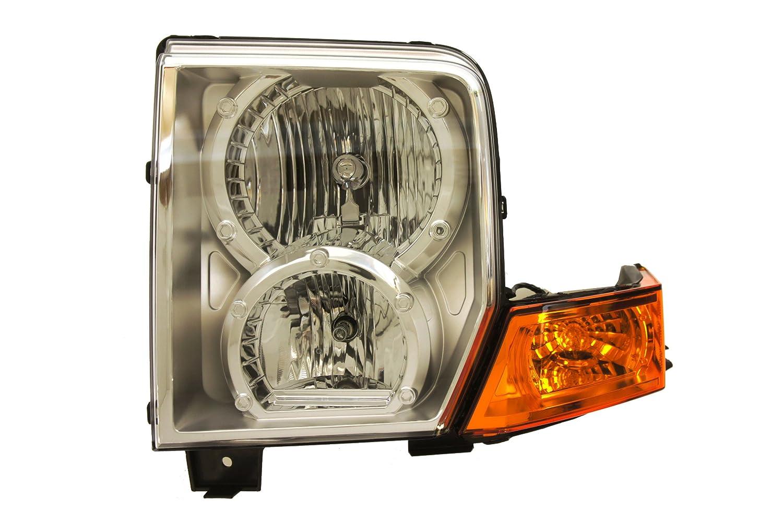 Genuine Chrysler Parts 55396537AI Driver Side Headlight Lens//Housing