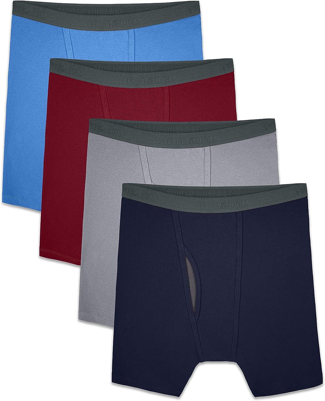 Fruit of the Loom Men's Tag-Free Premium Cotton Underwear & Undershirts