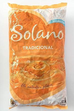 Solano Pack Toffee Tradicional Crema (2 x 900 g) - Caramelos Sin Azúcar [Total 1.800 g] en caja regalo AtracoM Box con Halls Sin Azúcar 32 g gratis: Amazon.es: Alimentación y bebidas