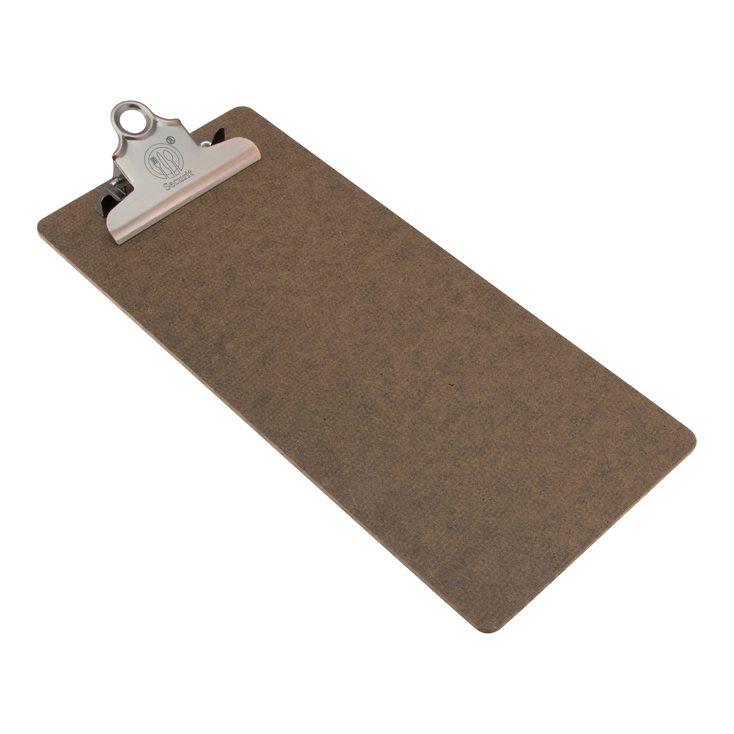 Set of 10 - Wooden Check Presenter - Bill Presenter - Guest Check Presenter - Restaurant Check Clip Board