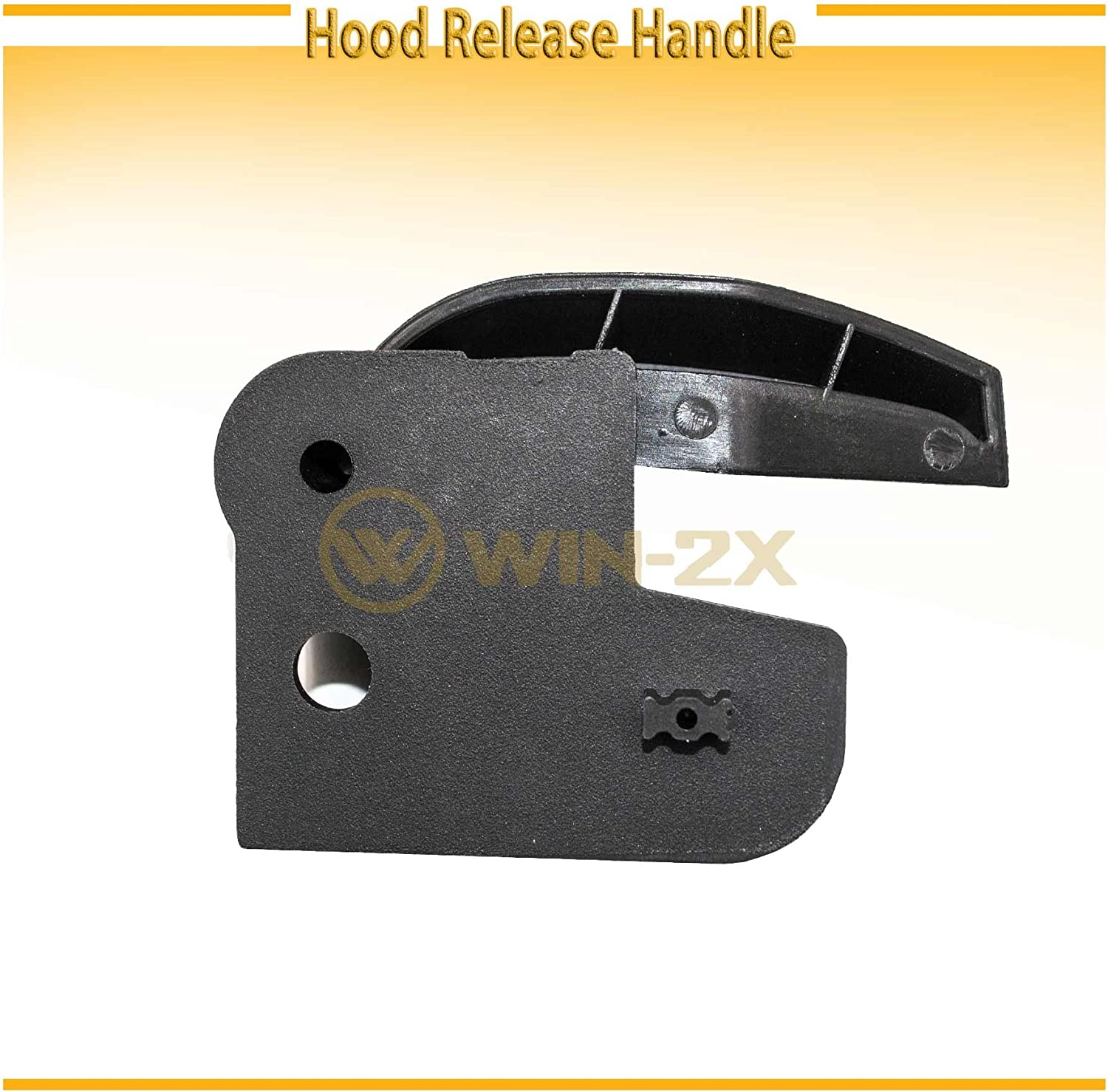 Hood Latch Release Pull Handle Lever for Cadillac GMC Chevrolet 07-14 20968782