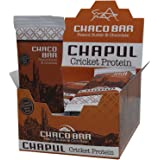 Chapul Cricket Flour Protein Bars – Chaco – Peanut Butter & Chocolate – High Protein Content – By Chapul (Chaco 12 Pack)