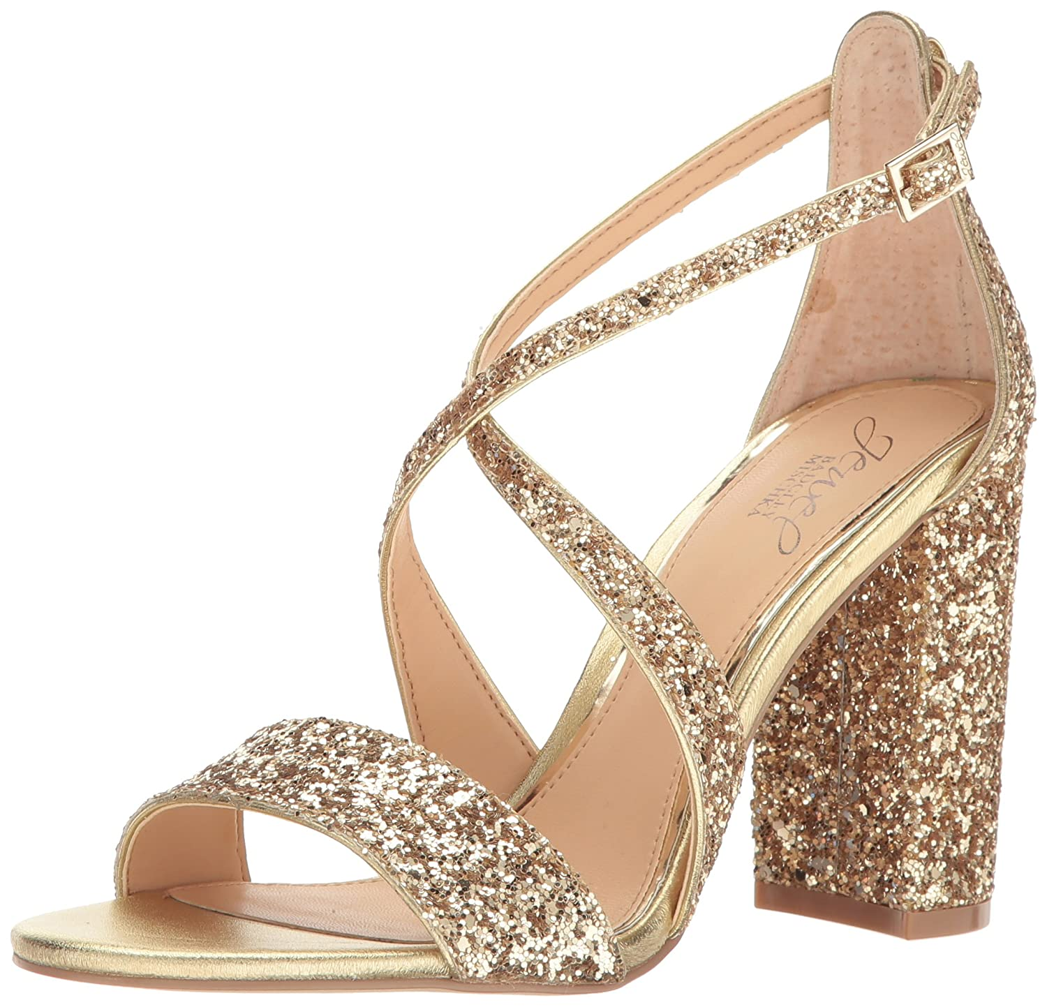Jewel Badgley Mischka Women's Cook Dress Sandal