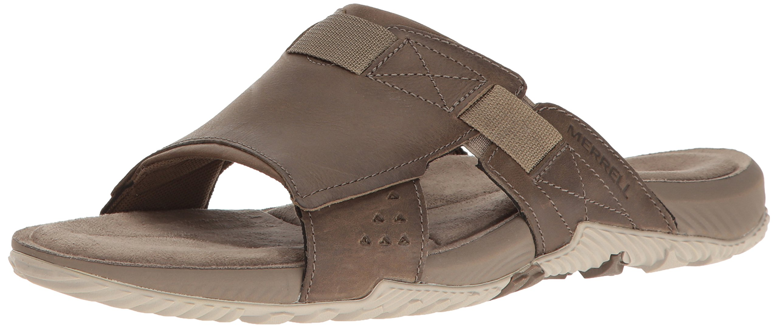 Merrell Men's Terrant Slide Sandal, Brindle, 13 M US