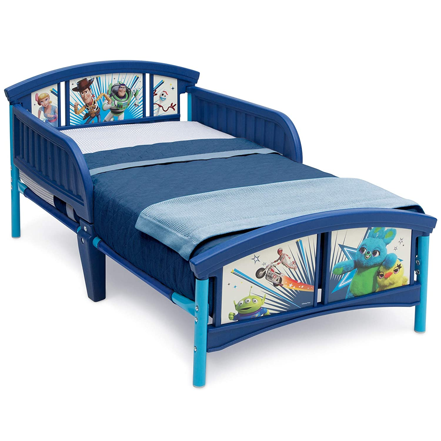 Delta Children Plastic Toddler Bed, Disney/Pixar Toy Story 4