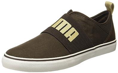 6733c0ccf23 Puma Men s Frazer Slip On Idp Chocolate Brown-Pale Khaki Sneakers - 10 UK