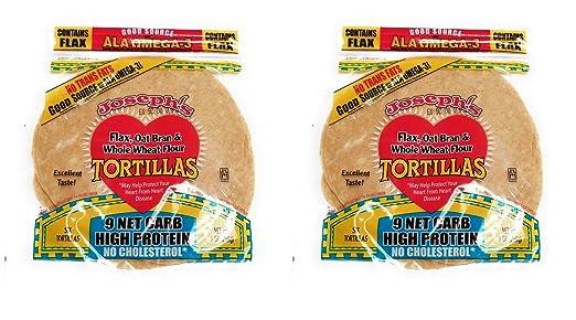Valor tortillas 2 Pack: Joseph Low Carb, lino, de la Avena ...