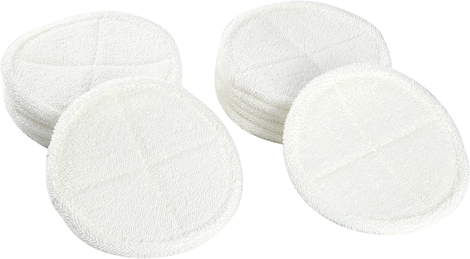 LTWHOME Replacement 8.6 Inch Soft Mop Pads Fit for Bissell Spinwave 2039 Series 2039A 2124 (Pack of 12)