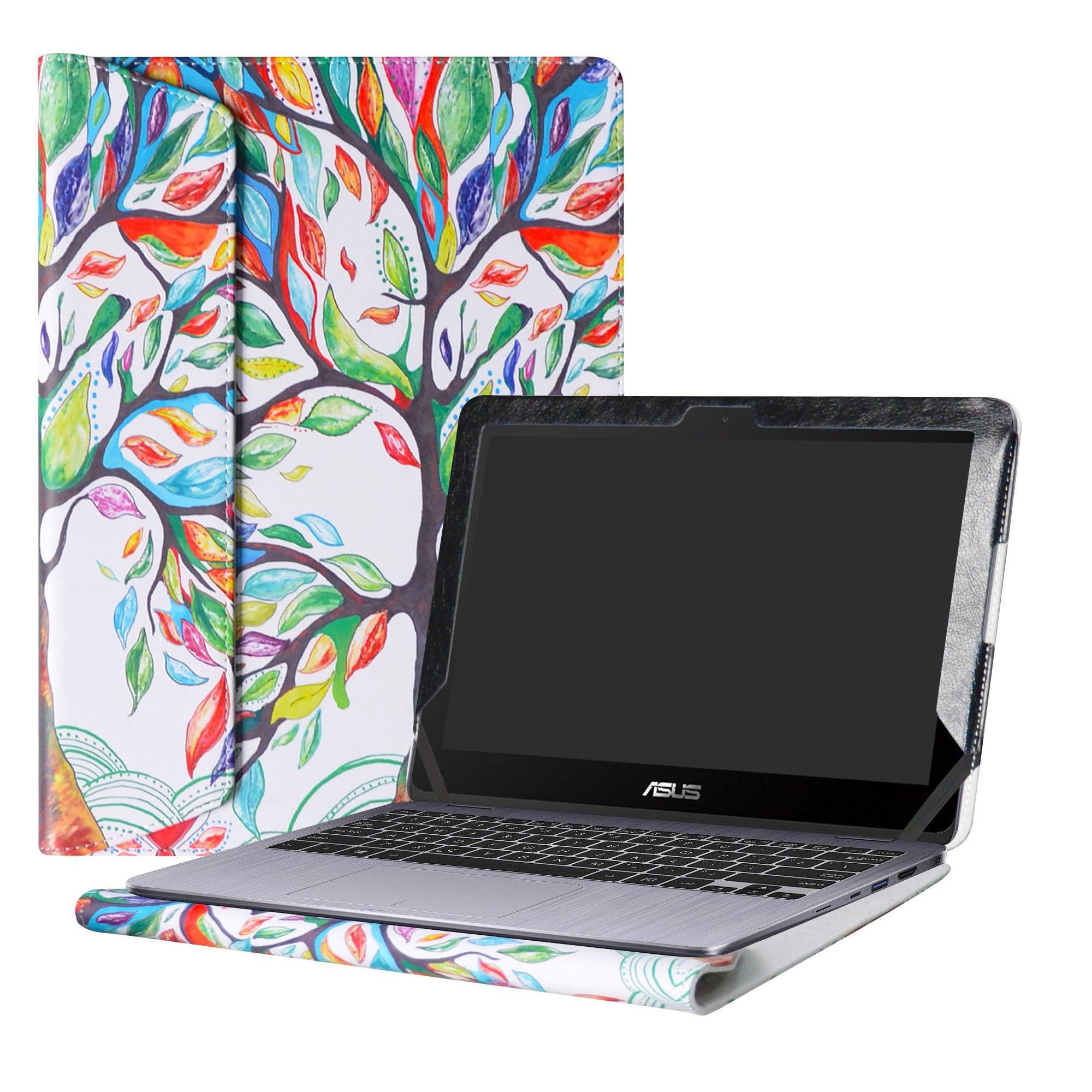 Alapmk Protective Case Cover For 11.6'' ASUS VivoBook Flip 12 TP203NA tp203na-uh01t Series Laptop(Warning:Only fit model TP203NA),Love Tree