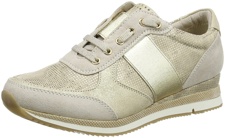 23711, Sneakers Basses Femme, Beige (Dune Comb 435), 41 EUMarco Tozzi
