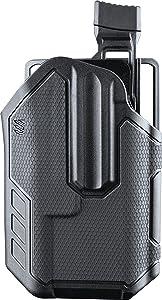 BLACKHAWK! Omnivore SL TLR1/TLR2 419002BBR Belt Holster Level 2 Retention, Right