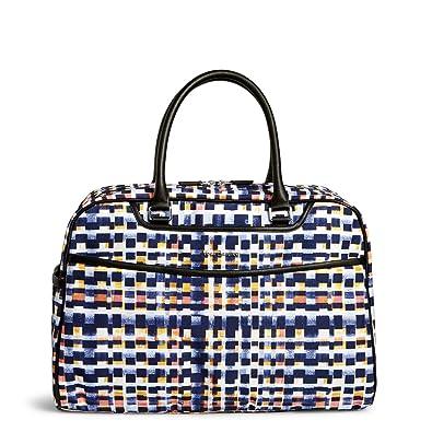 6af30d9f6 Vera Bradley Iconic Weekender Travel Bag, Microfiber, Abstract Blocks